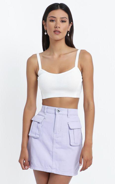 Mendez Skirt in Lilac