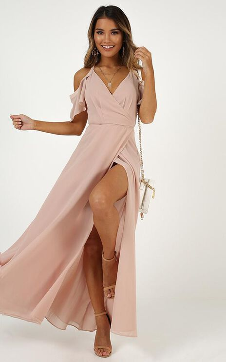 Give You My All Dress In Blush