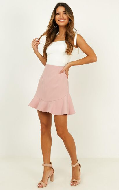 Sweet Calm Skirt In blush - 20 (XXXXL), Blush, hi-res image number null