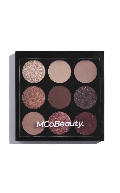 MCoBeauty - Eyeshadow Palette in Burgundy Nudes