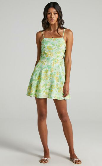 Moneta Dress in Fresh Floral