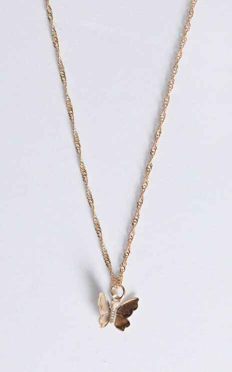Single Choice Necklace In Gold
