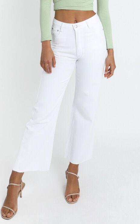 Reagan Jean in White