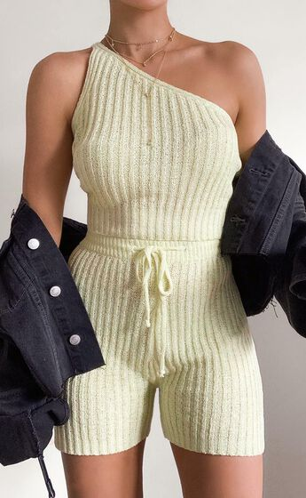 Kerry Knit Top in Yellow