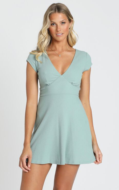 Changing Seasons Dress in Sage