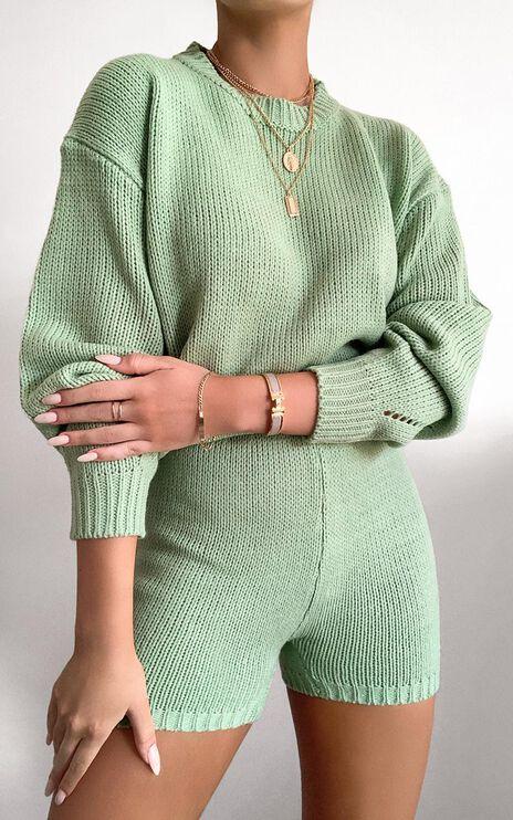 Becca Knit Jumper in Green
