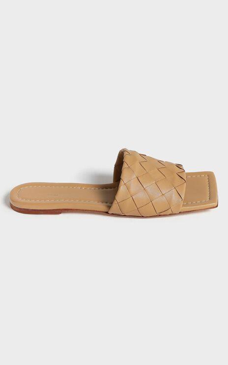 Tony Bianco - Glamour Sandals in Honey Sheep Napa