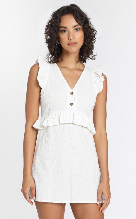 Camilla Dress in White