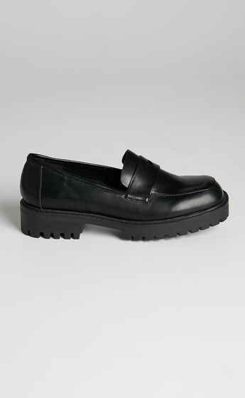 Therapy - Royce Loafer in Black Smooth