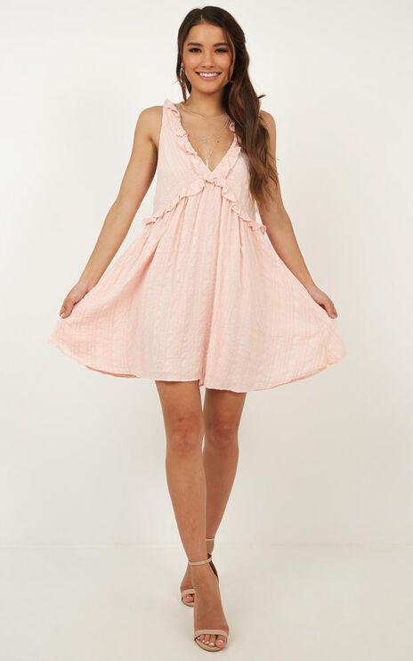 Suncity Dress In Blush