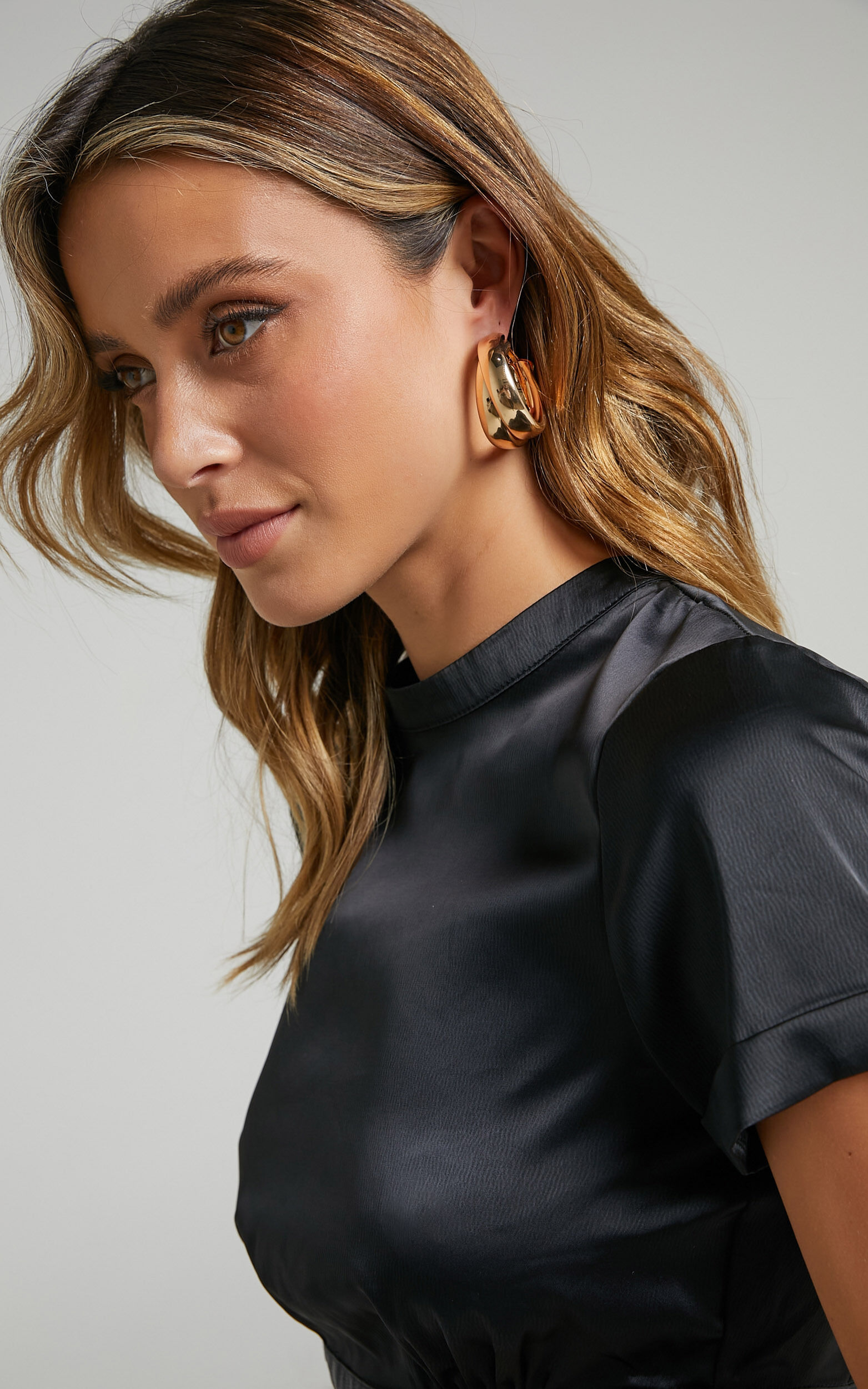 Tia Earrings in Gold - NoSize, GLD1, super-hi-res image number null
