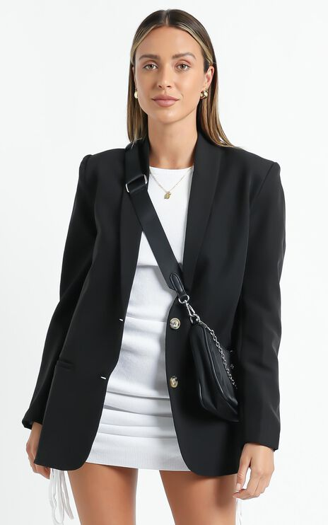 Miss Universe Blazer in Black