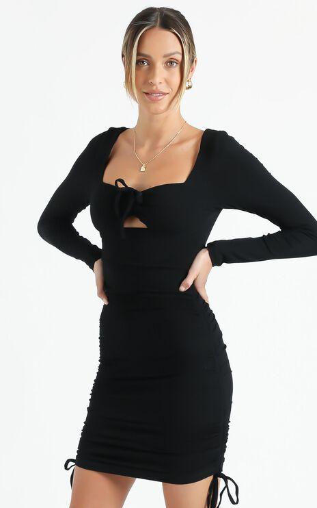 Reynolds Dress in Black