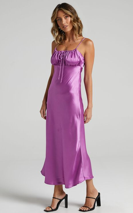 Blakely Dress in Orchid