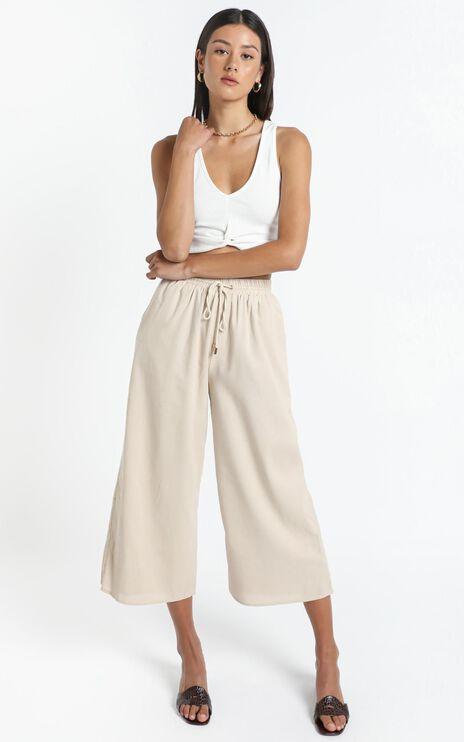 Chenoa Pants in Beige