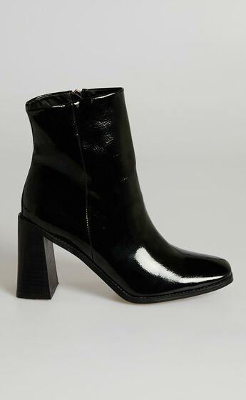 Billini - Scorpio Boots in Black Patent