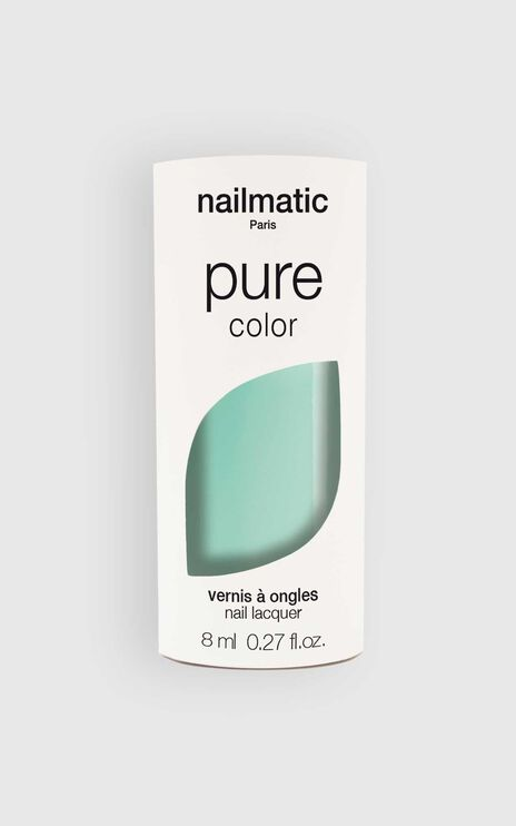 Nailmatic - Pure Color Mona Nail Polish in Aqua