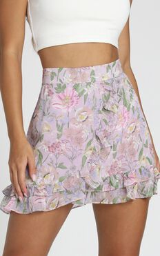 Lois Skirt In Lilac