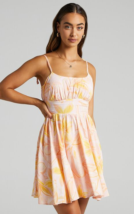 Summer Jam Dress in Summer Floral