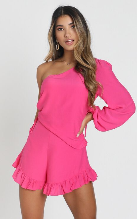 Ithaca Playsuit In Pink