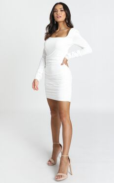 Found A Way Dress In White