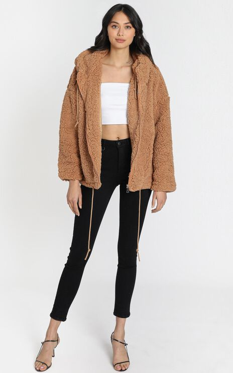 New Yorker Jacket in Camel