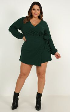 Cruel Intentions Playsuit In Emerald