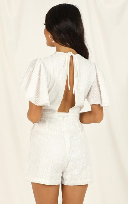Little Rebels Playsuit in white - 20 (XXXXL), White, hi-res image number null