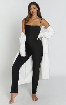 Newquay Jumpsuit in black