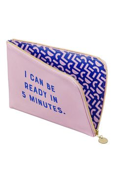 YES Studio: Reversible Clutch - I Can Be Ready