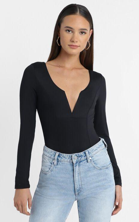 Livy Bodysuit in Black