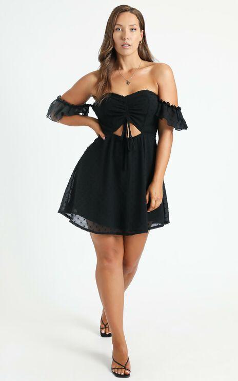 Take Flight Dress In Black