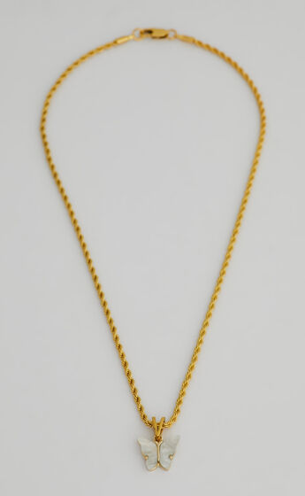 SAILIE NECKLACE in Gold