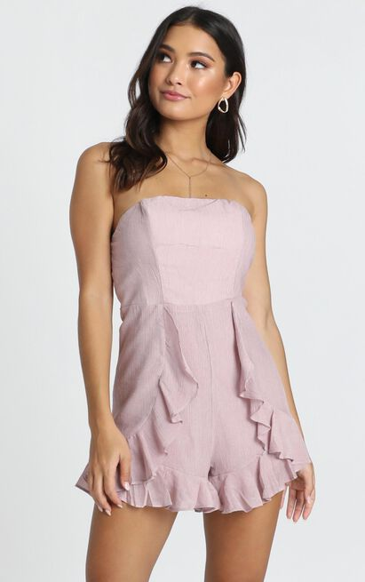 Think Pretty Playsuit in blush - 12 (L), Blush, hi-res image number null