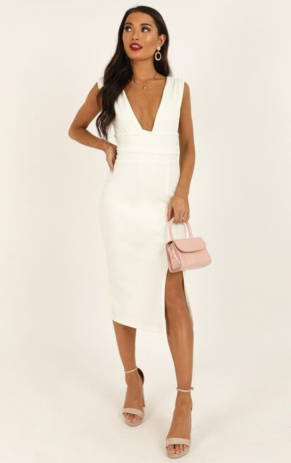 Dont Catch Feelings Dress in white - 20 (XXXXL), White, hi-res image number null