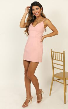 Chance For Us Dress In Pink