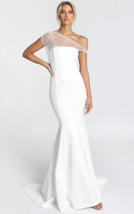 Put A Ring On It Gown In White