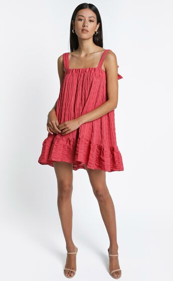 Amaryllis Dress in Watermelon