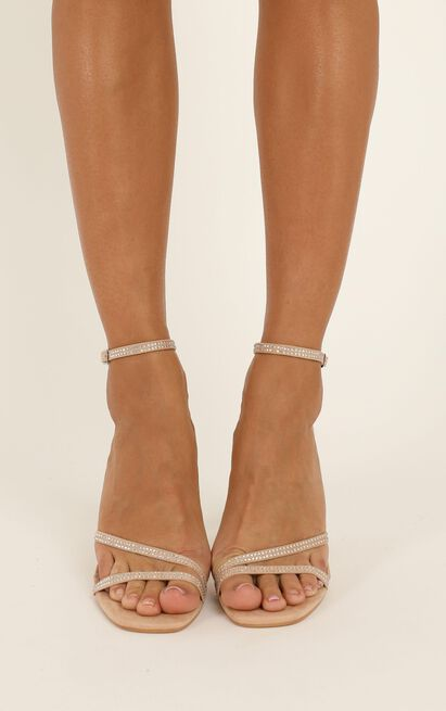 Billini - Iniko heels in blush micro - 10, Blue, hi-res image number null