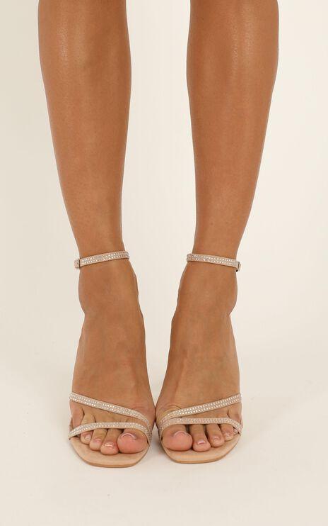 Billini - Iniko Heels In Blush Micro