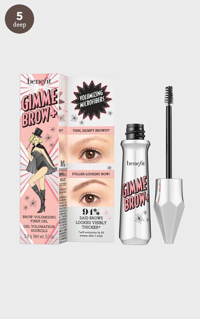 Benefit Cosmetics - Gimme Brow + Shade 5, Brown, hi-res image number null