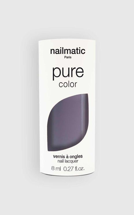Nailmatic - Pure Color Ayoko Nail Polish in Slate Grey