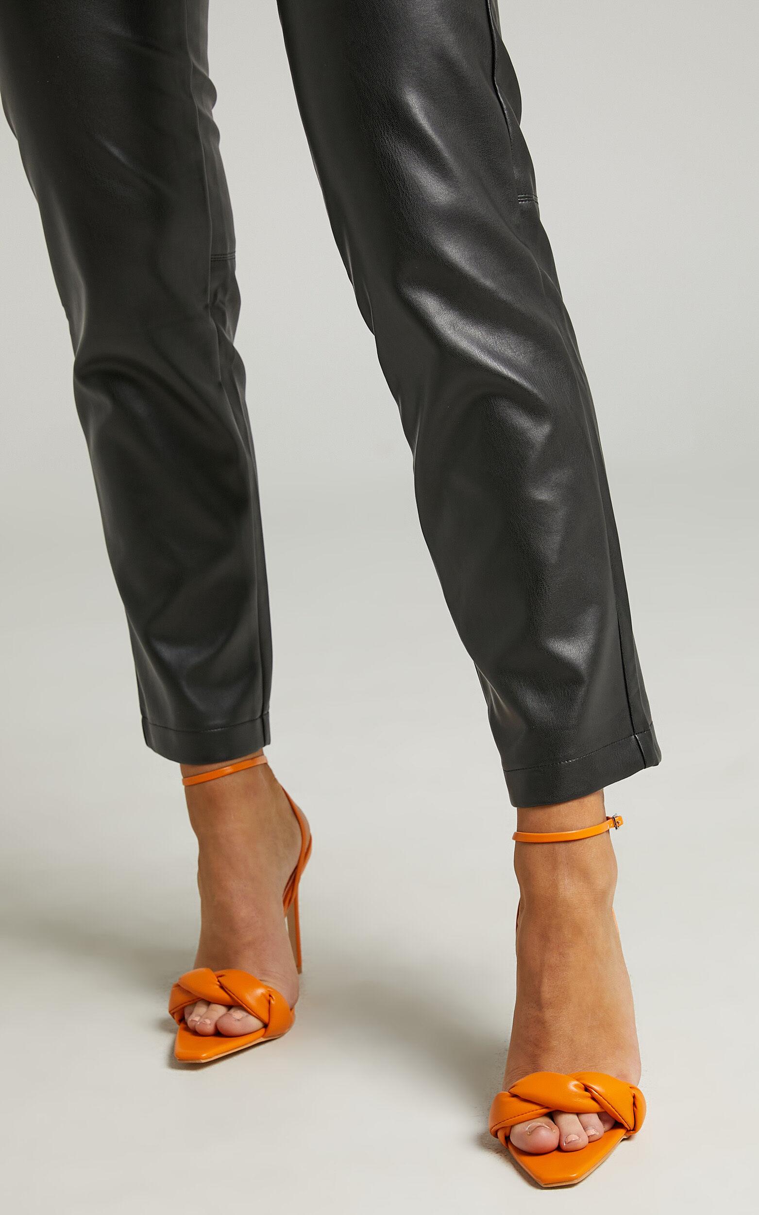 Public Desire - Tutu Heels in Orange PU - 05, ORG2, super-hi-res image number null