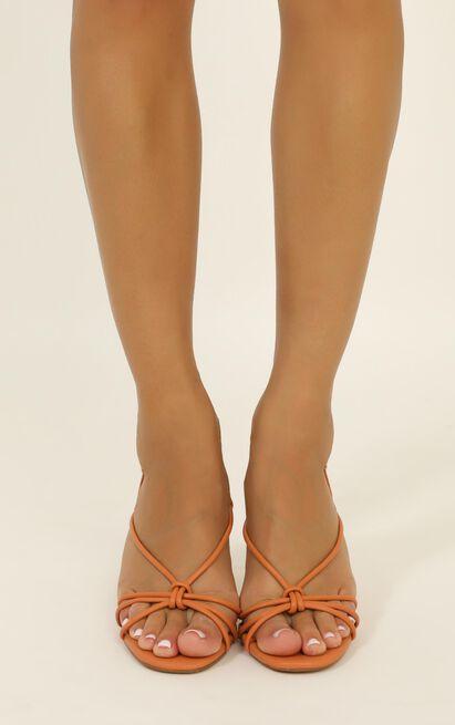 Billini - Janie heels in peach - 10, Pink, hi-res image number null