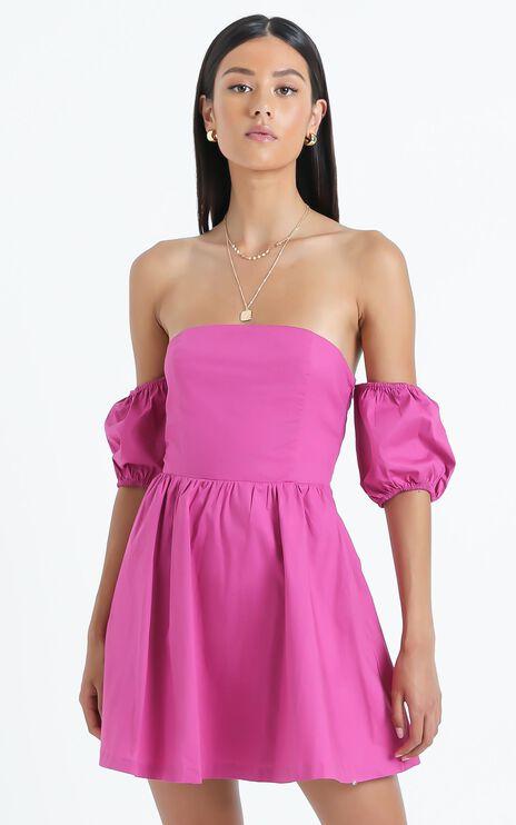 Fydle Dress in Purple