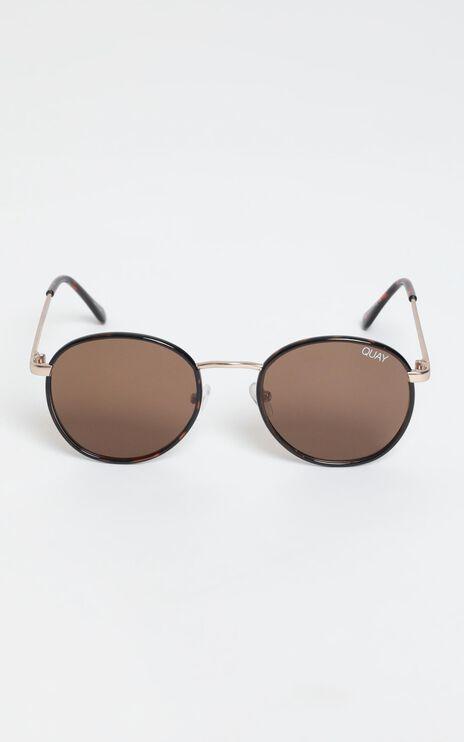 Quay - Omen Sunglasses In Tort