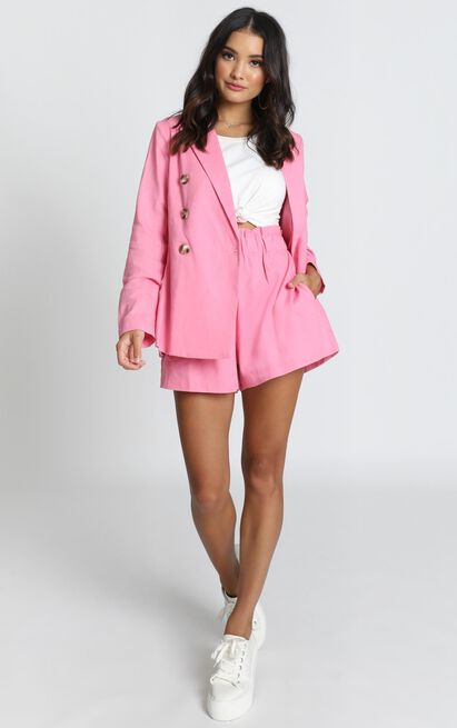 Raspberry Dust blazer in hot pink - 12 (L), Pink, hi-res image number null
