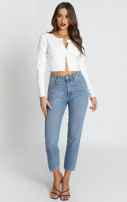 Abrand - A '94 High Slim Jeans in miss jane  - 6 (XS), Blue, hi-res image number null