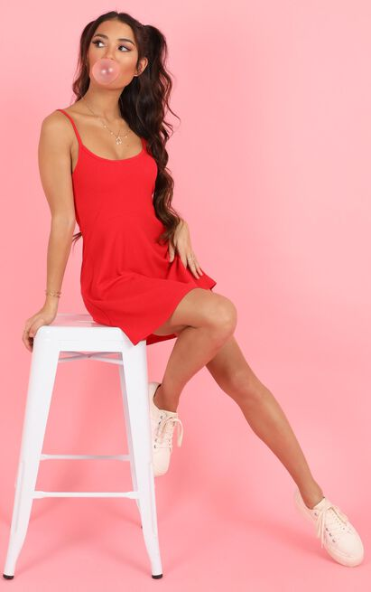 About Your Dreams Dress in red - 20 (XXXXL), Red, hi-res image number null