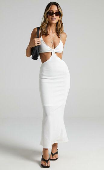 Kessandra Dress in White